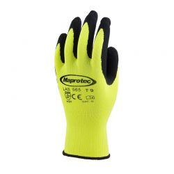 gant-polyamide-jaune-fluo-maprotec-LAS565